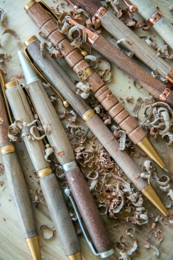Stylos de stylo à bille photos libres de droits