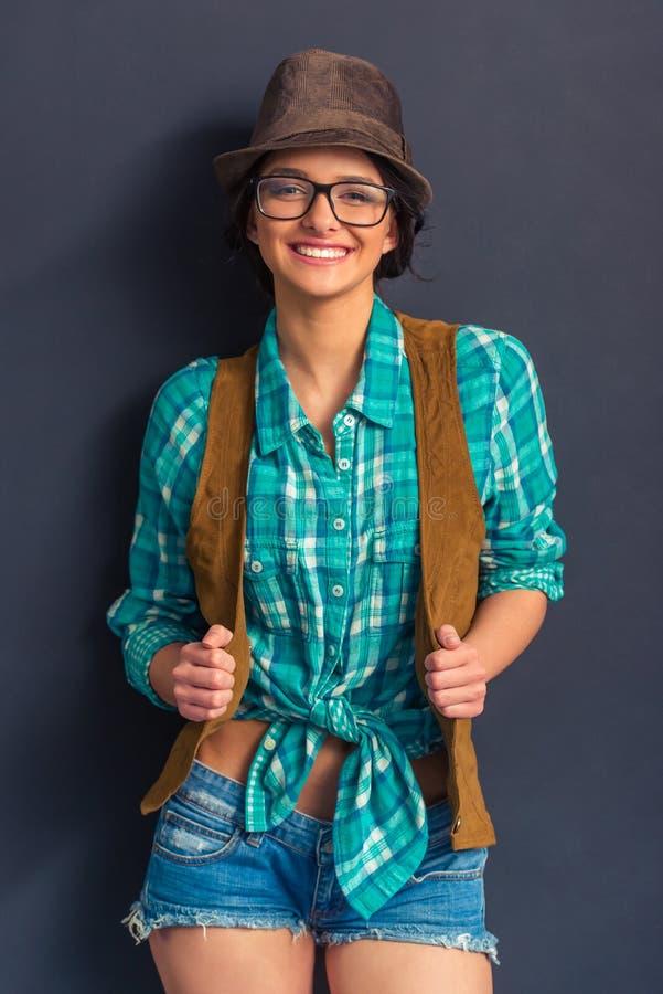 stylowe młodych kobiet zdjęcia stock