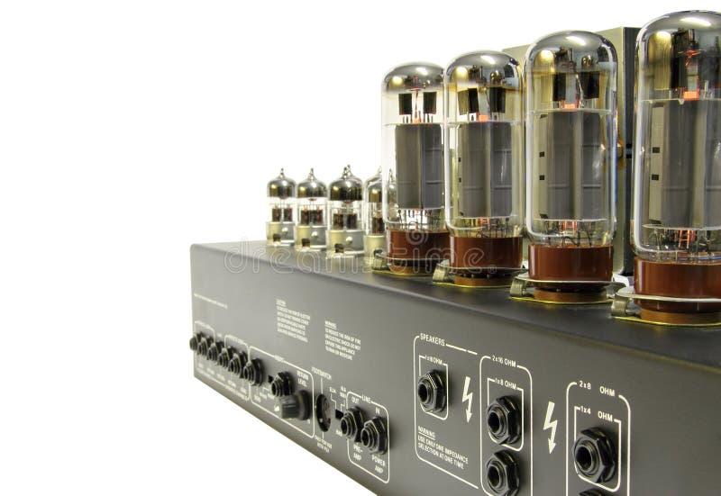 stylowy amplifikatoru rocznik obraz stock
