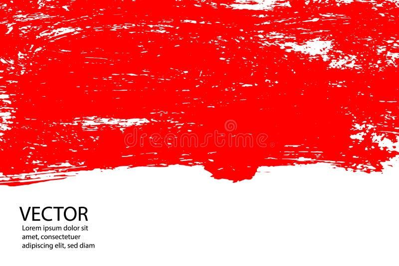 stylowy Halloweenowy tło z krwionośnymi splats royalty ilustracja