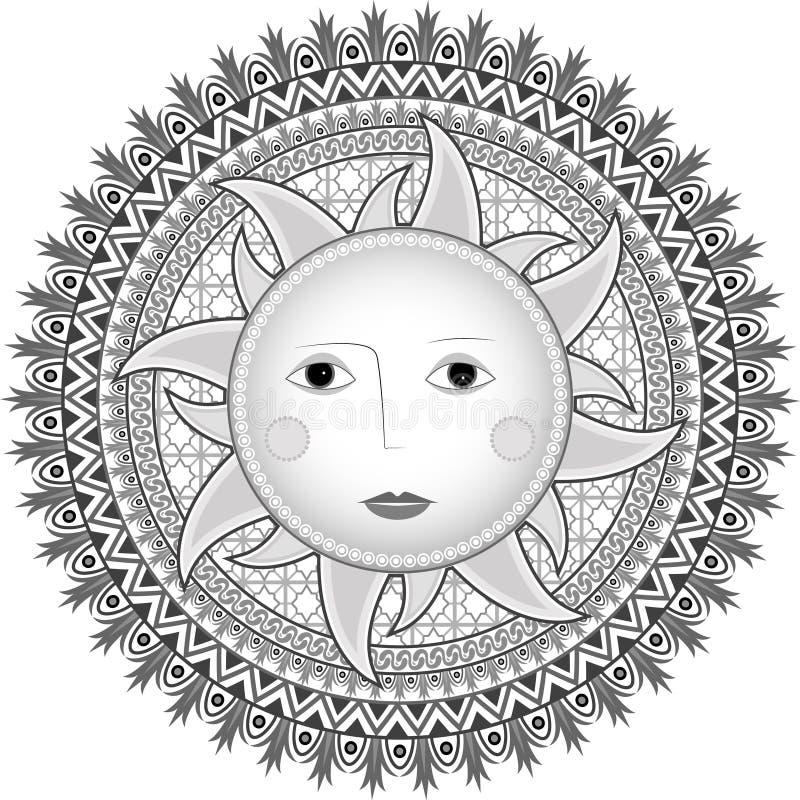 Stylowy Rosjanina Słońce Zdjęcie Royalty Free