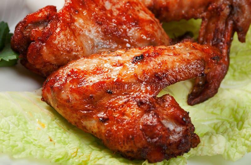 stylu kurczaka skrzydła zdjęcie royalty free