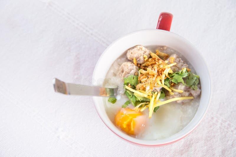 Stylu tajlandzki śniadanie obrazy stock