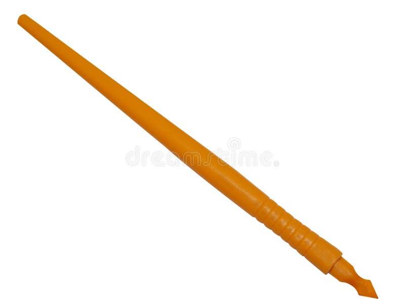 stylus stary writing zdjęcie stock