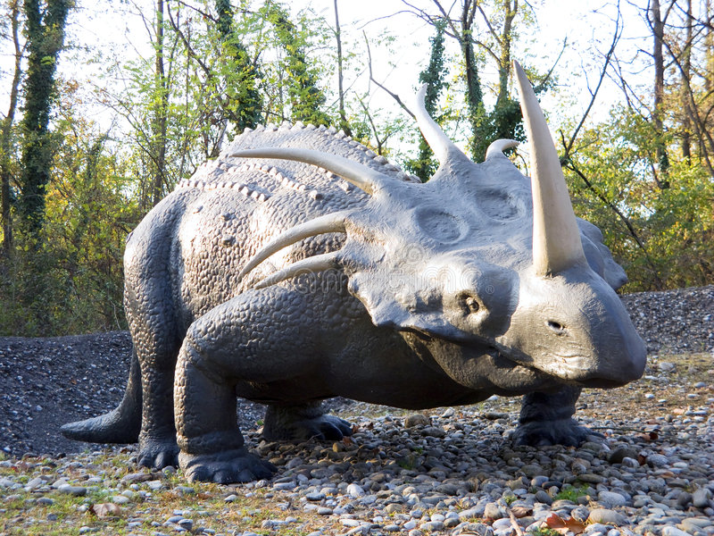 Download Styracosaurus stock image. Image of environment, archeology - 6787499