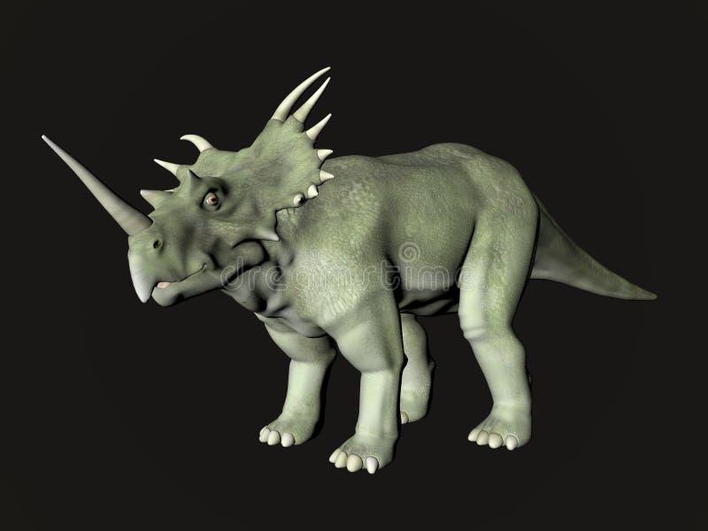 Styracosaurus illustration de vecteur