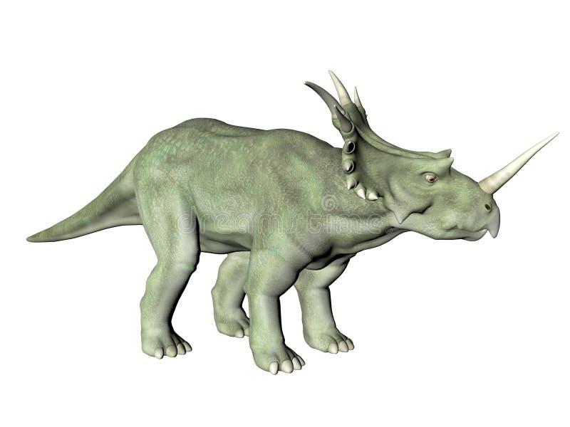 Styracosaurus illustration libre de droits