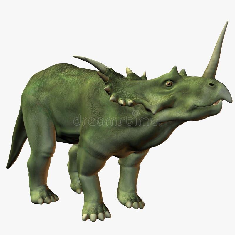 Styracosaurus vector illustration