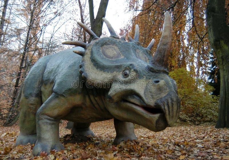 Styracosaurus (albertensis Styracosaurus) στοκ φωτογραφία με δικαίωμα ελεύθερης χρήσης