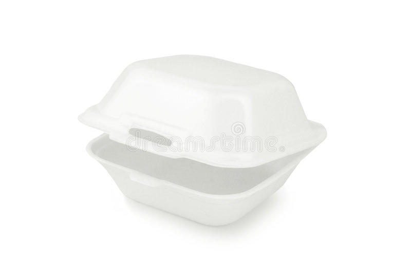 Download Styrofoam container stock image. Image of cutout, background - 7826099