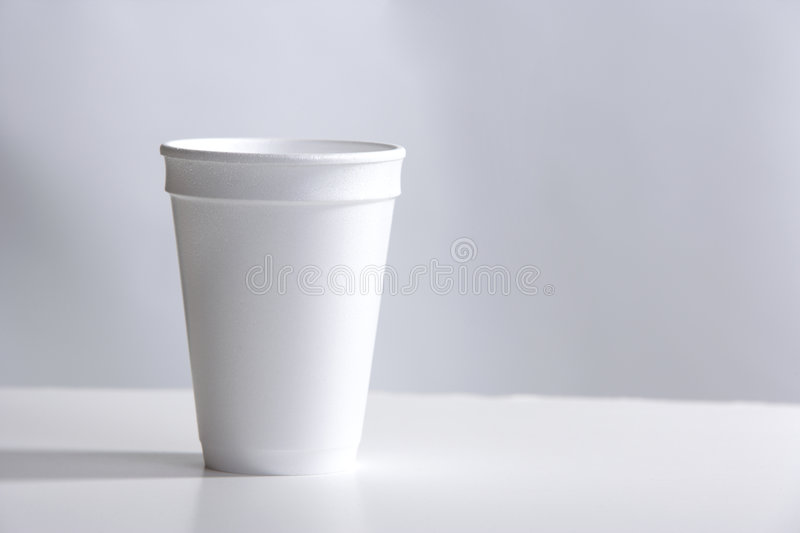 Download Styrofoam Cup on desk stock image. Image of chocolate - 8380261