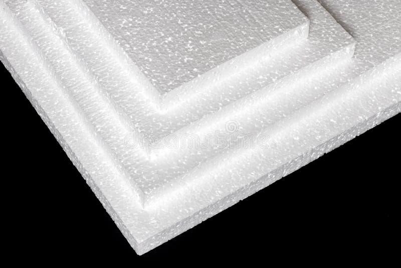 Styrofoam Fogli di fabbricazione fotografia stock