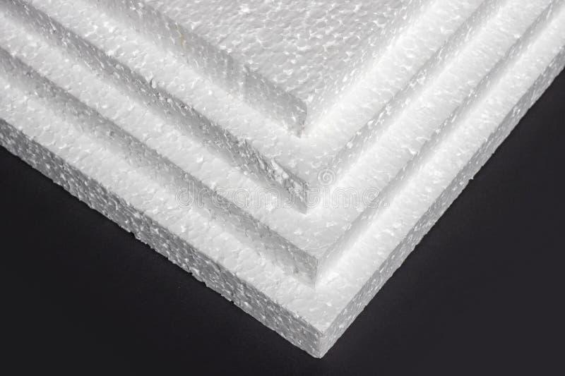 Styrofoam Fogli di fabbricazione fotografie stock libere da diritti