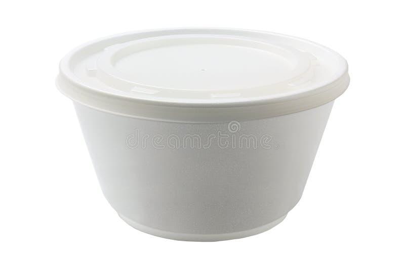 Styrofoam puchar zdjęcia royalty free