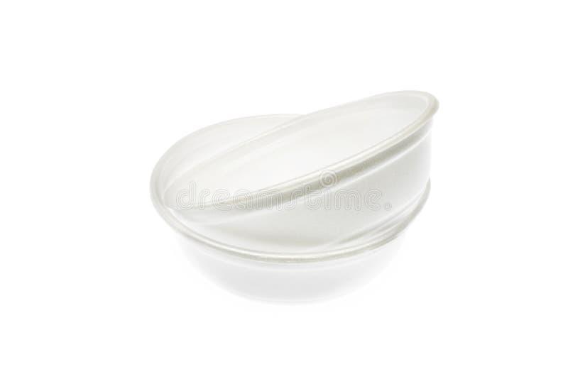 Styrofoam puchary obrazy stock