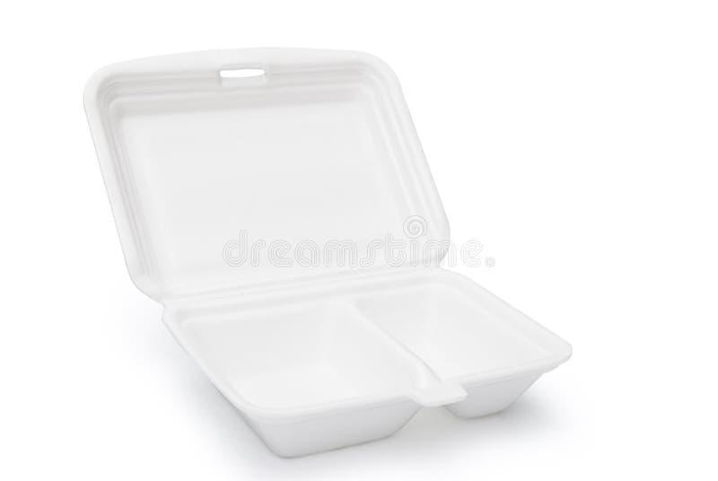 Styrofoam pudełko zdjęcia stock