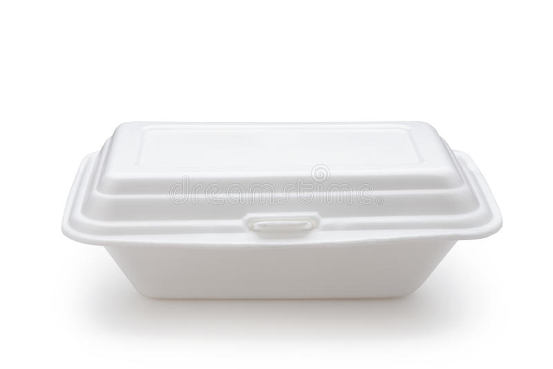 styrofoam pudełko fotografia stock