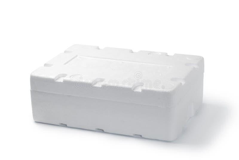 Styrofoam pudełko zdjęcia royalty free
