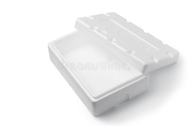 Styrofoam pudełko fotografia royalty free