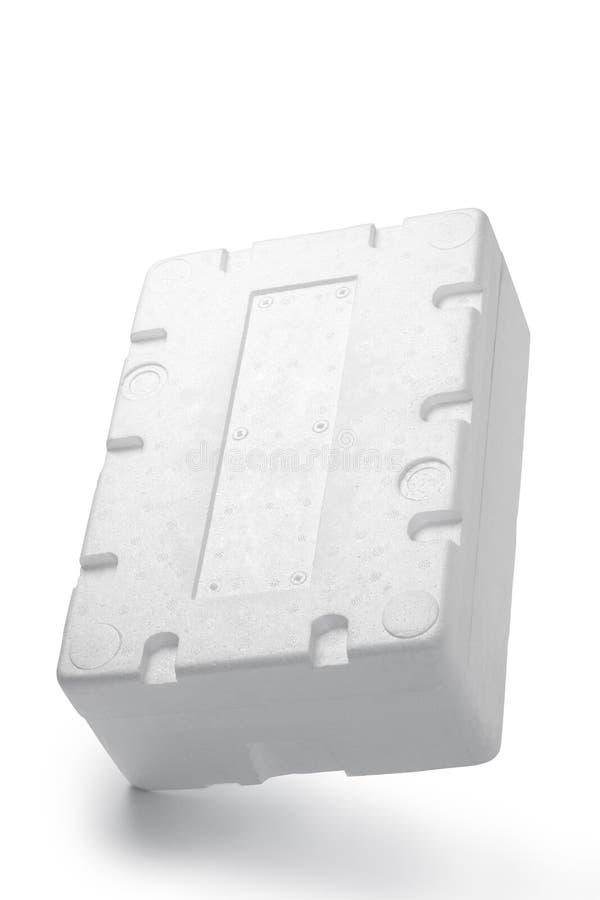 Styrofoam pudełko obrazy stock
