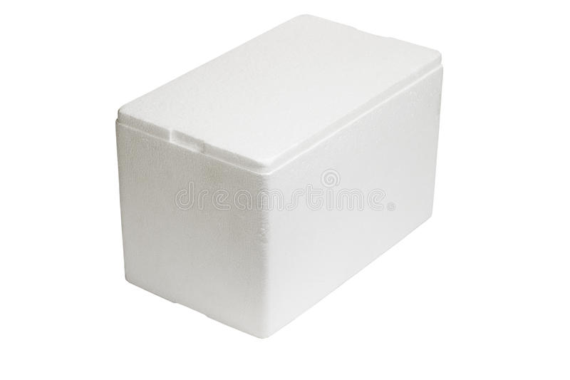 Download Styrofoam storage box stock image. Image of closed, foam - 21218497