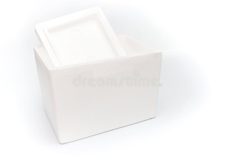 Styrofoam storage box isolated stock photos