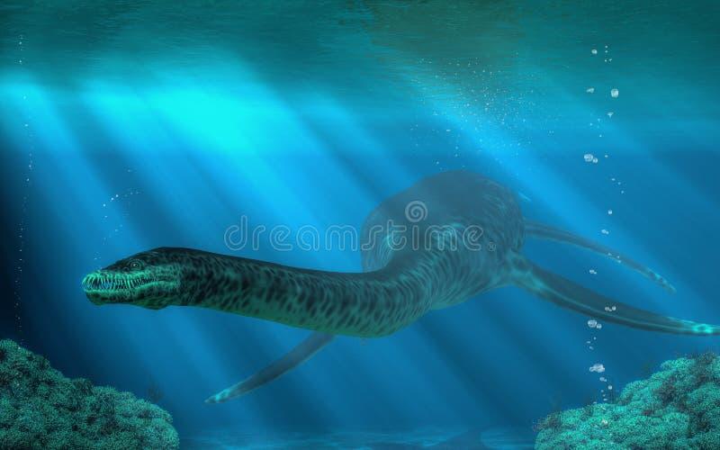 Styxosaurus ilustracja wektor