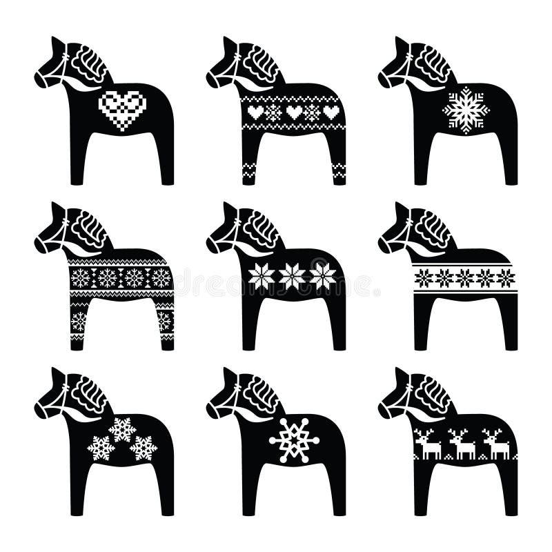 dessin cheval suedois