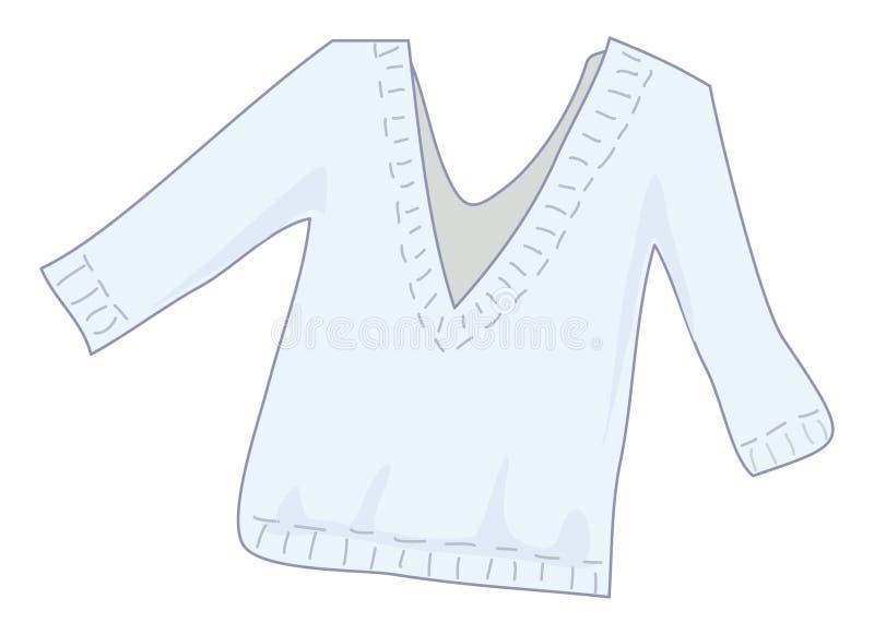 Suéter ilustración del vector