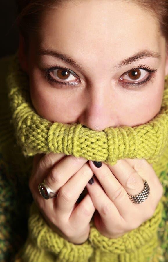 Suéter caliente imagen de archivo libre de regalías