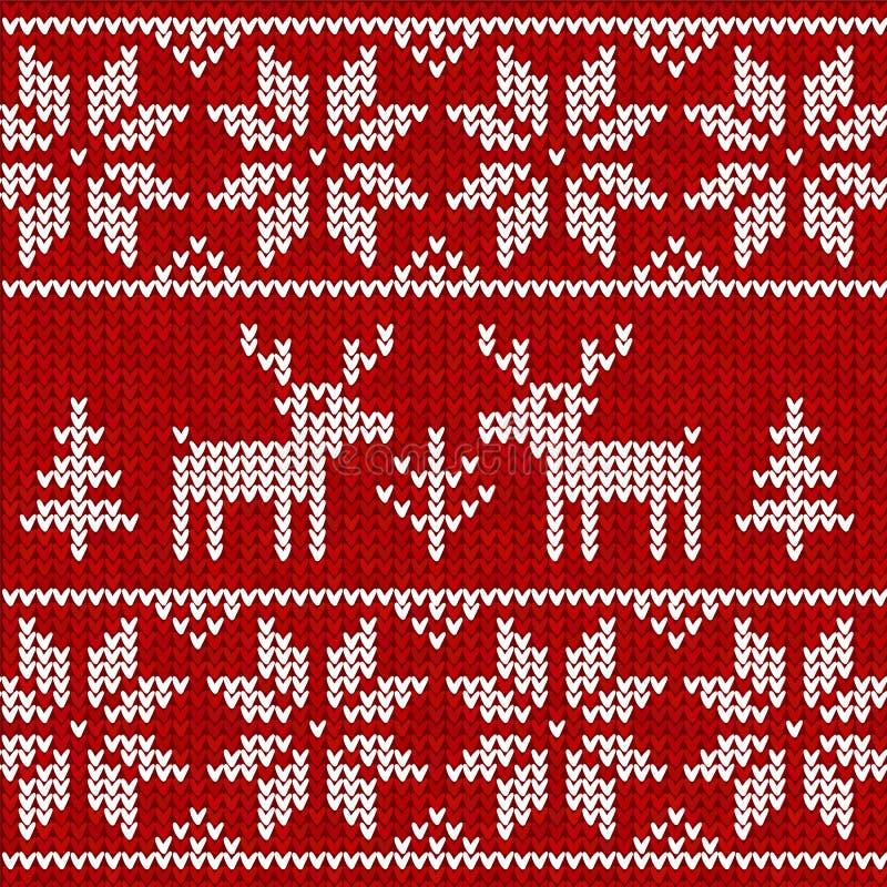 Suéter con los ciervos libre illustration