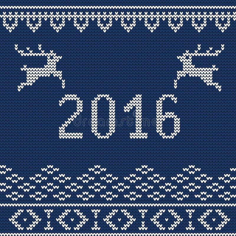 Suéter 5 de la Navidad libre illustration