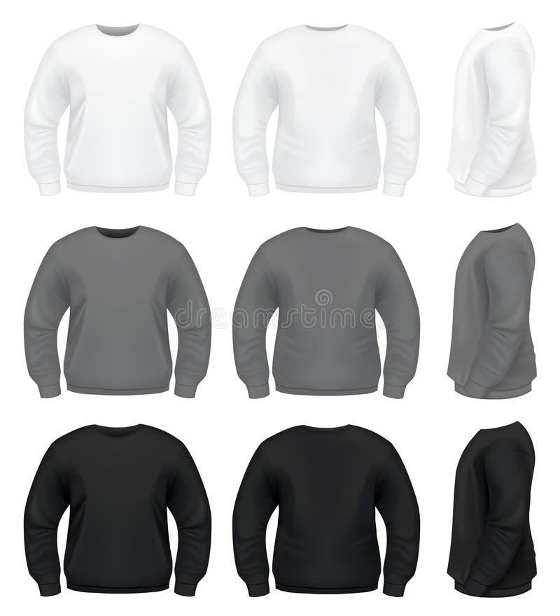 Suéter de los hombres realistas libre illustration