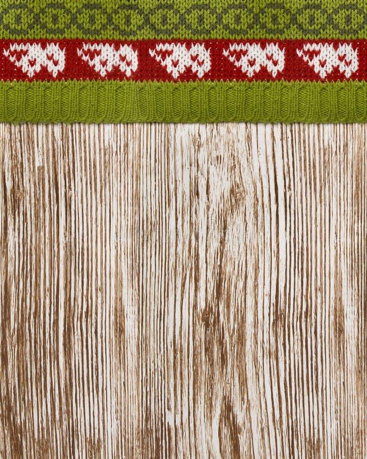 Suéter hecho punto textura de madera, fondo inconsútil, invierno de madera fotos de archivo libres de regalías