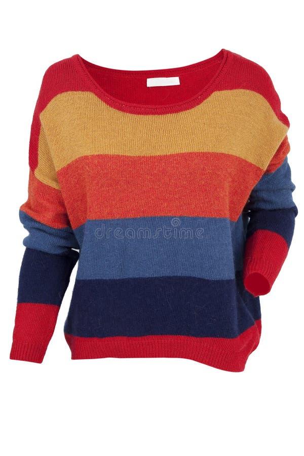 Suéter multicolor imágenes de archivo libres de regalías