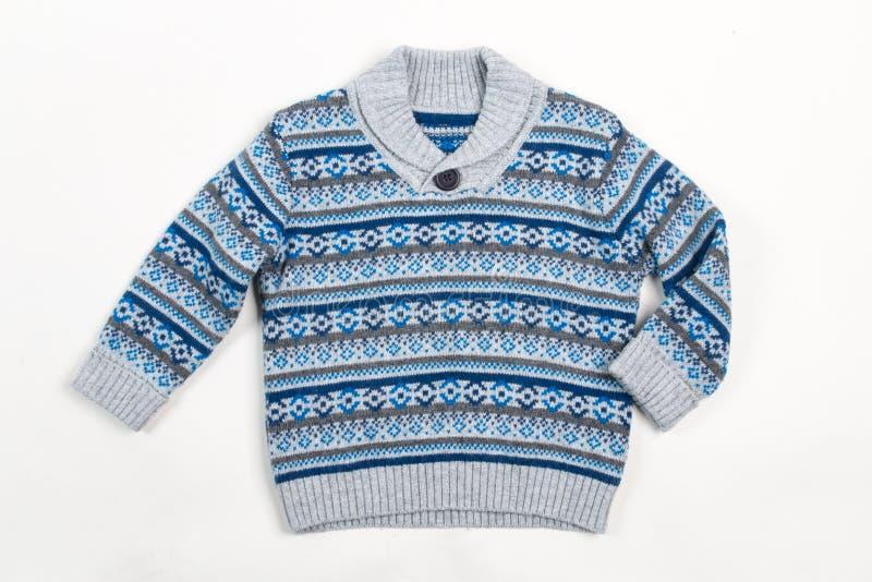 Suéter para los niños fotografía de archivo