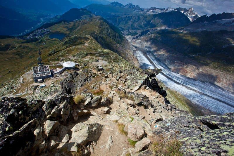 Suíça - arena de Aletch fotos de stock
