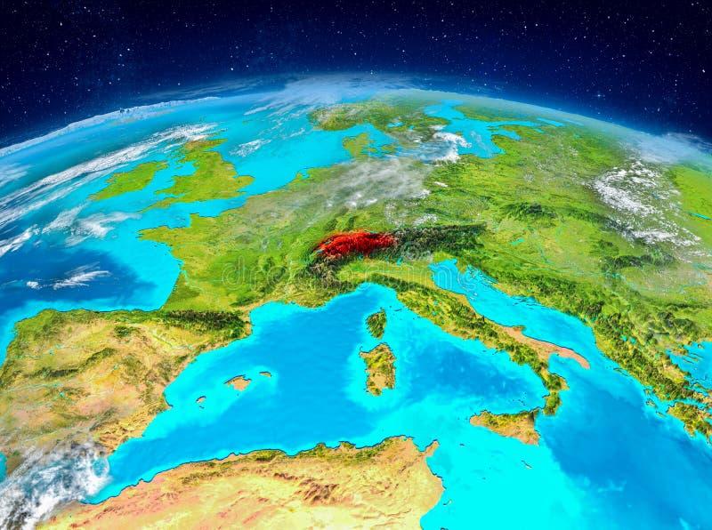 Suíça na terra fotografia de stock royalty free