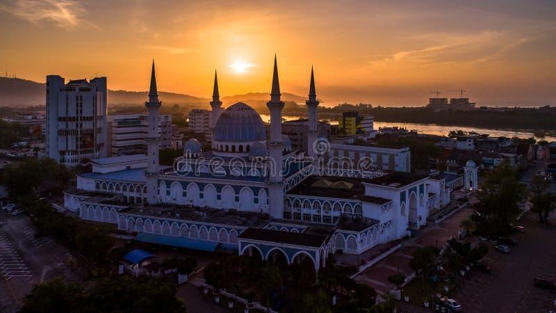 Sułtanu Ahmad Shah meczet obrazy stock