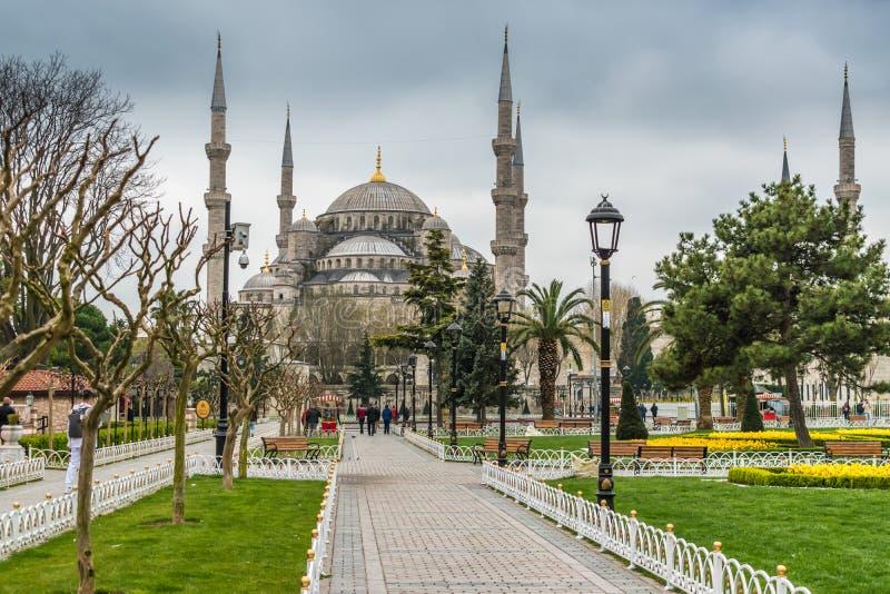 Sułtanu Ahmed meczet, Błękitny meczet/, Istanbuł, Turcja obrazy stock
