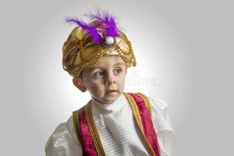 Sułtanu dziecko obraz royalty free
