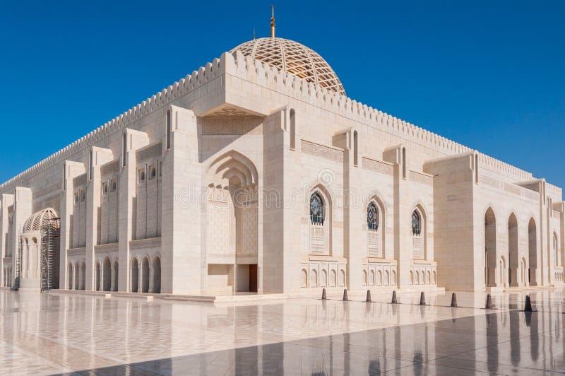 Sułtanu Qaboos meczet, muszkat, Oman zdjęcia royalty free