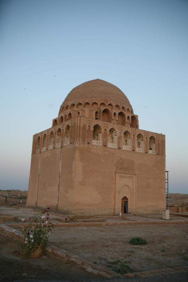Sułtanu Sanjar mauzoleum fotografia stock