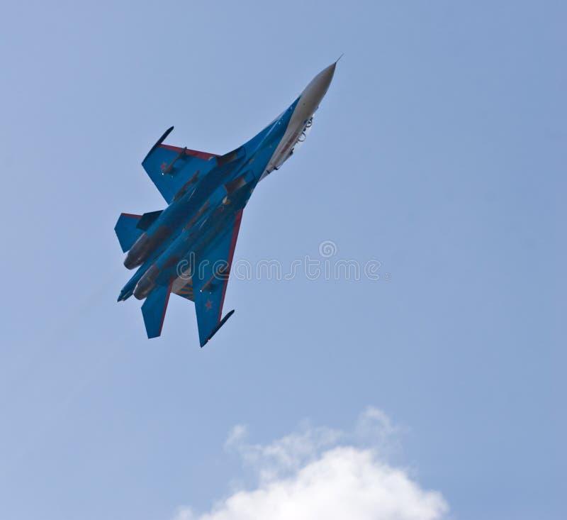 su 27 myśliwiec zdjęcie royalty free