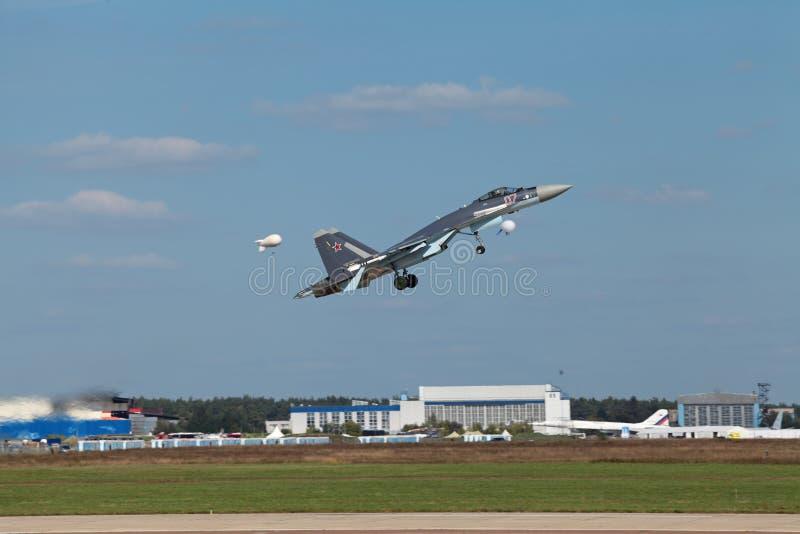 Su-35 immagini stock