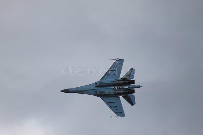 Su-35 fotografia stock
