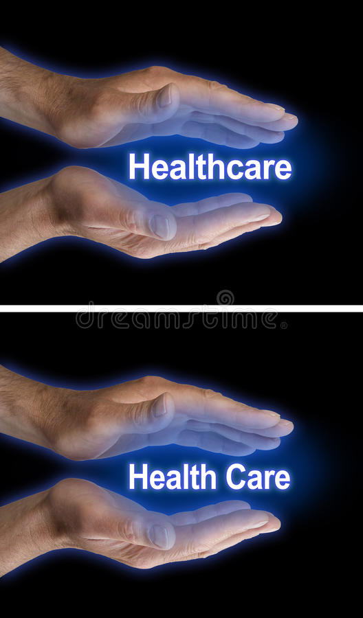 Su atención sanitaria está en sus manos imagenes de archivo