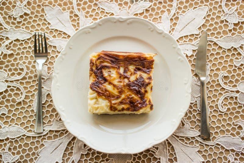 Su Boregi/empanada turca imagen de archivo