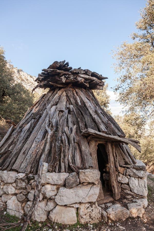 Su Cuile - Old Shepherd house in the path to Gola su Gorroppu - Sardinia.  stock photography