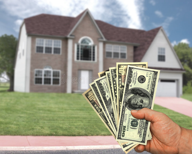 Su dinero, su sueño imagen de archivo